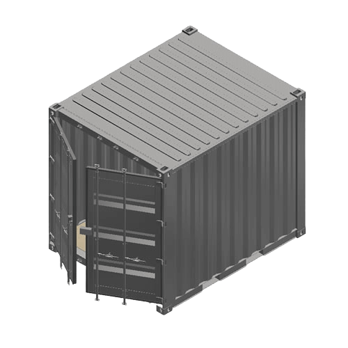 Containerumbau 10ft Standard