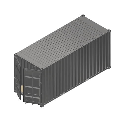 Containerumbau 20ft High Cube