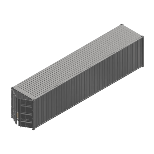 Containerumbau - 40ft High Cube