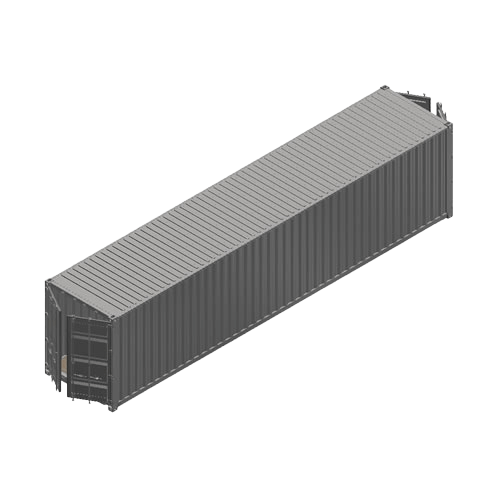 Containerumbau - 40ft Hugh Cube DoubleDoor