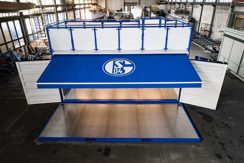 Container auf Schalke 11