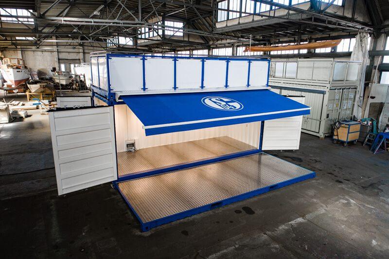 Container auf Schalke 1