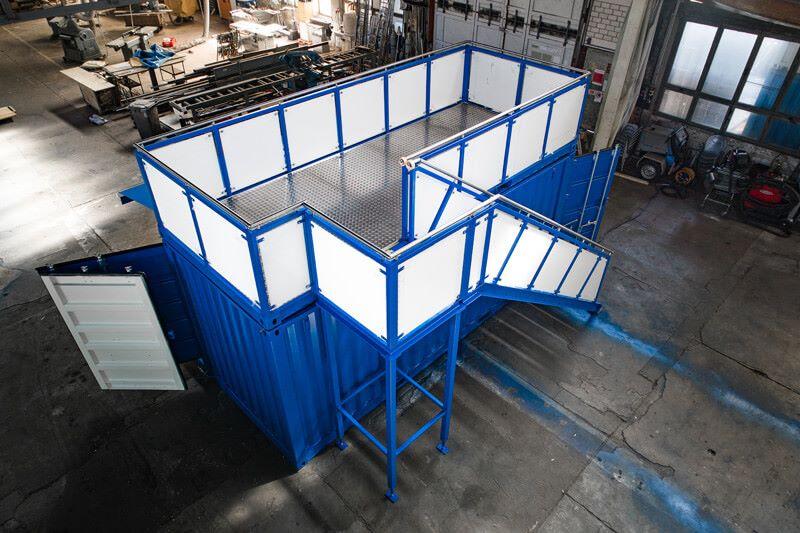 Container auf Schalke 2
