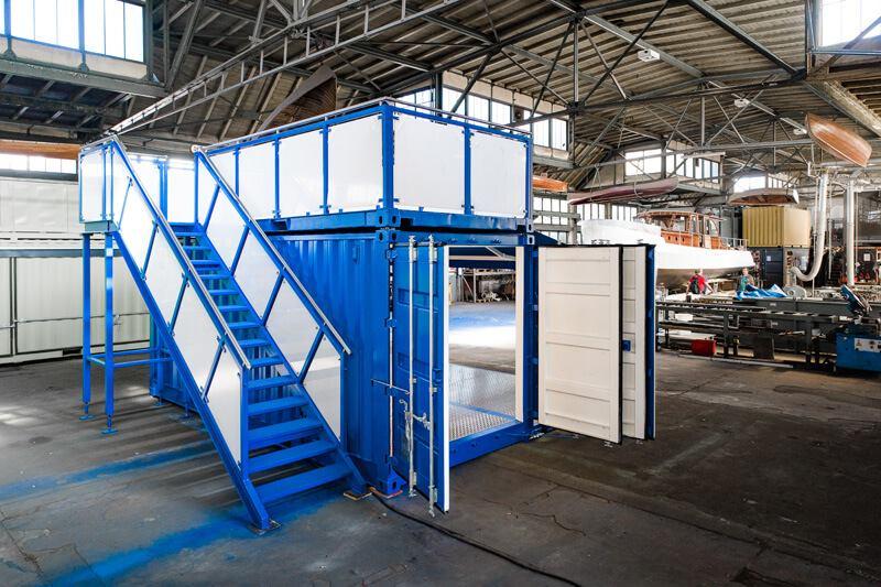 Container auf Schalke 3