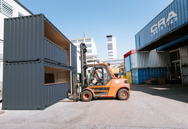 Raucher Container 8