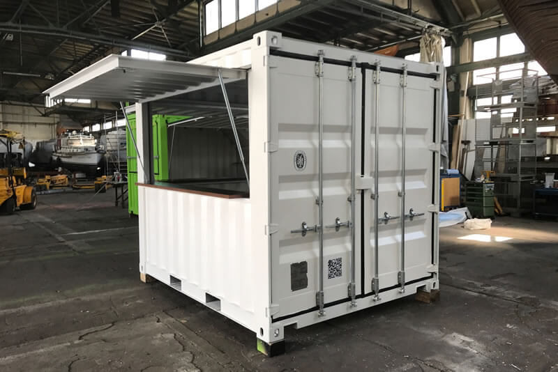 Barcontainer 10ft